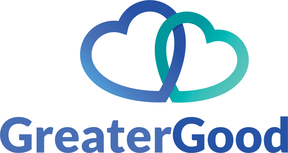 """Logo of the words """"Greater Good"""""""