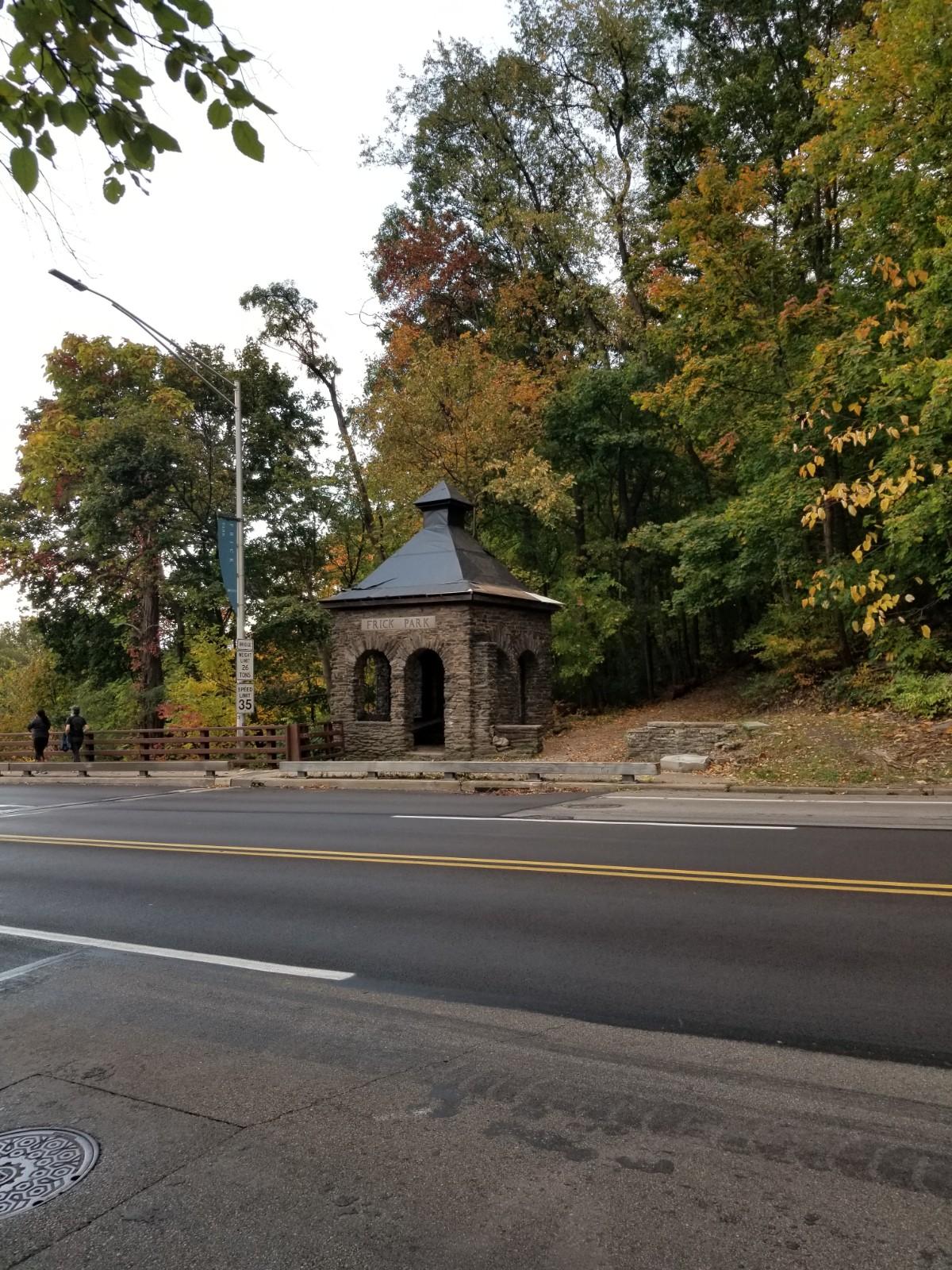 Forbes Avenue Gatehouse at Frick Park