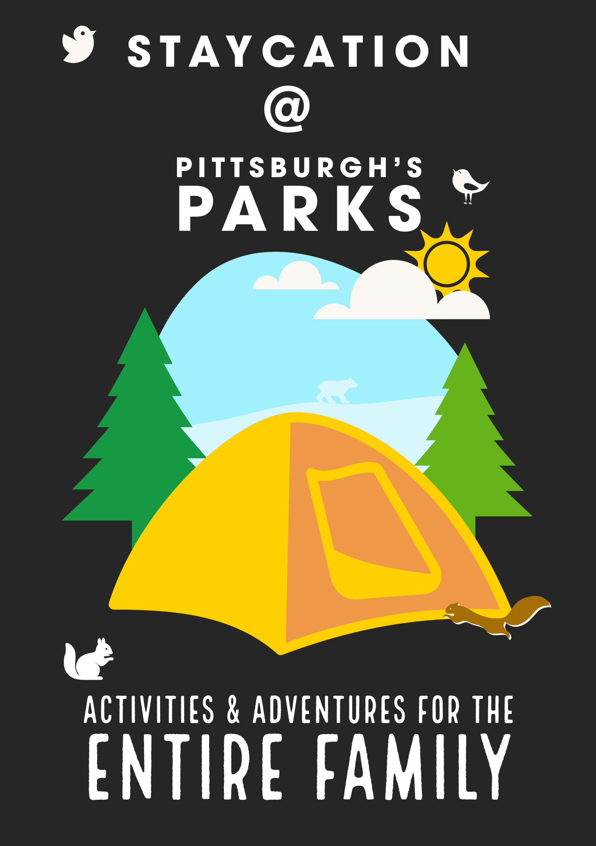 Poster of Staycation at Pittsburgh Parks