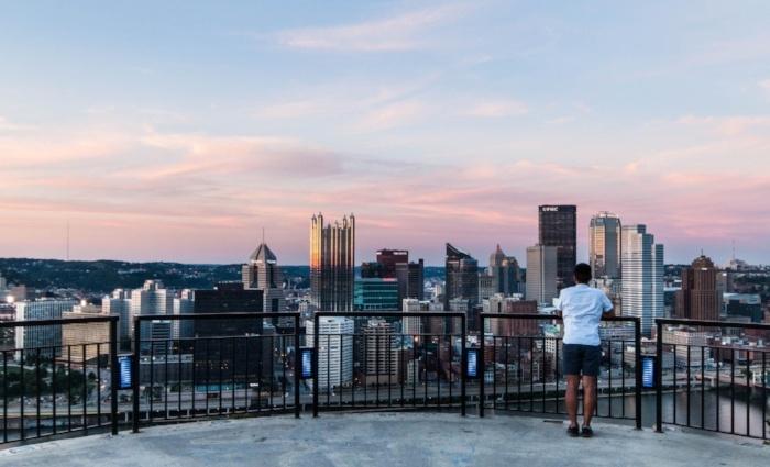 Emerald View Park city overlook