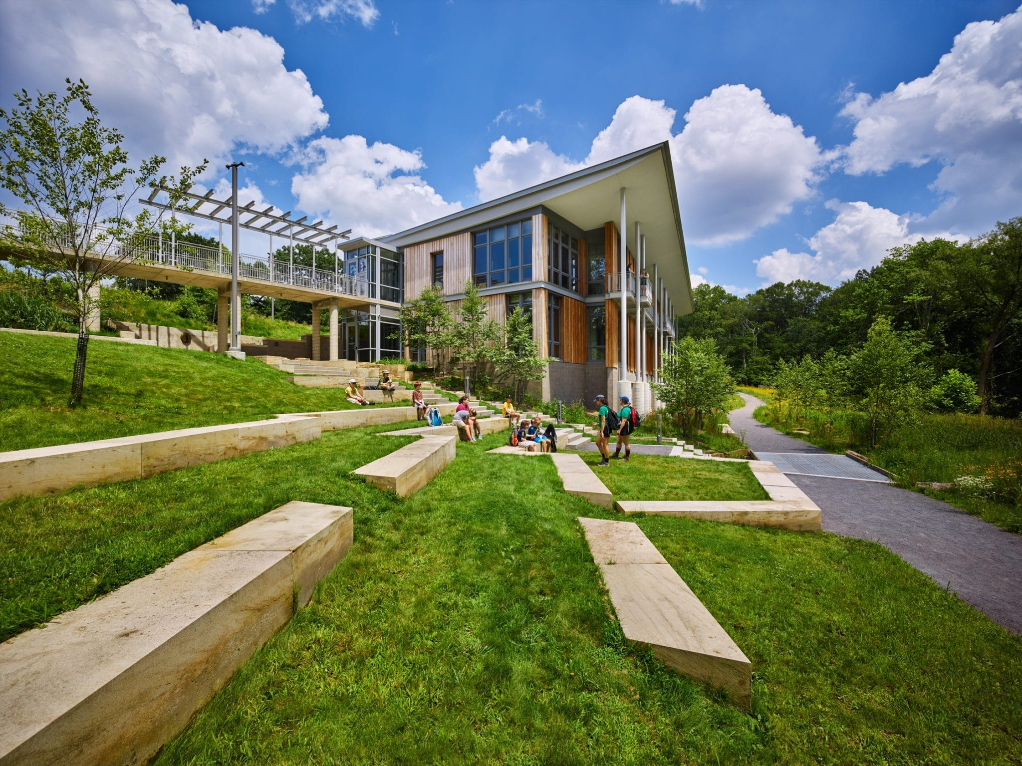 The Frick Environmental Center, one of the world's most sustainable buildings
