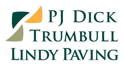 PJ Dick, Trumbull, Lindy Paving Logo