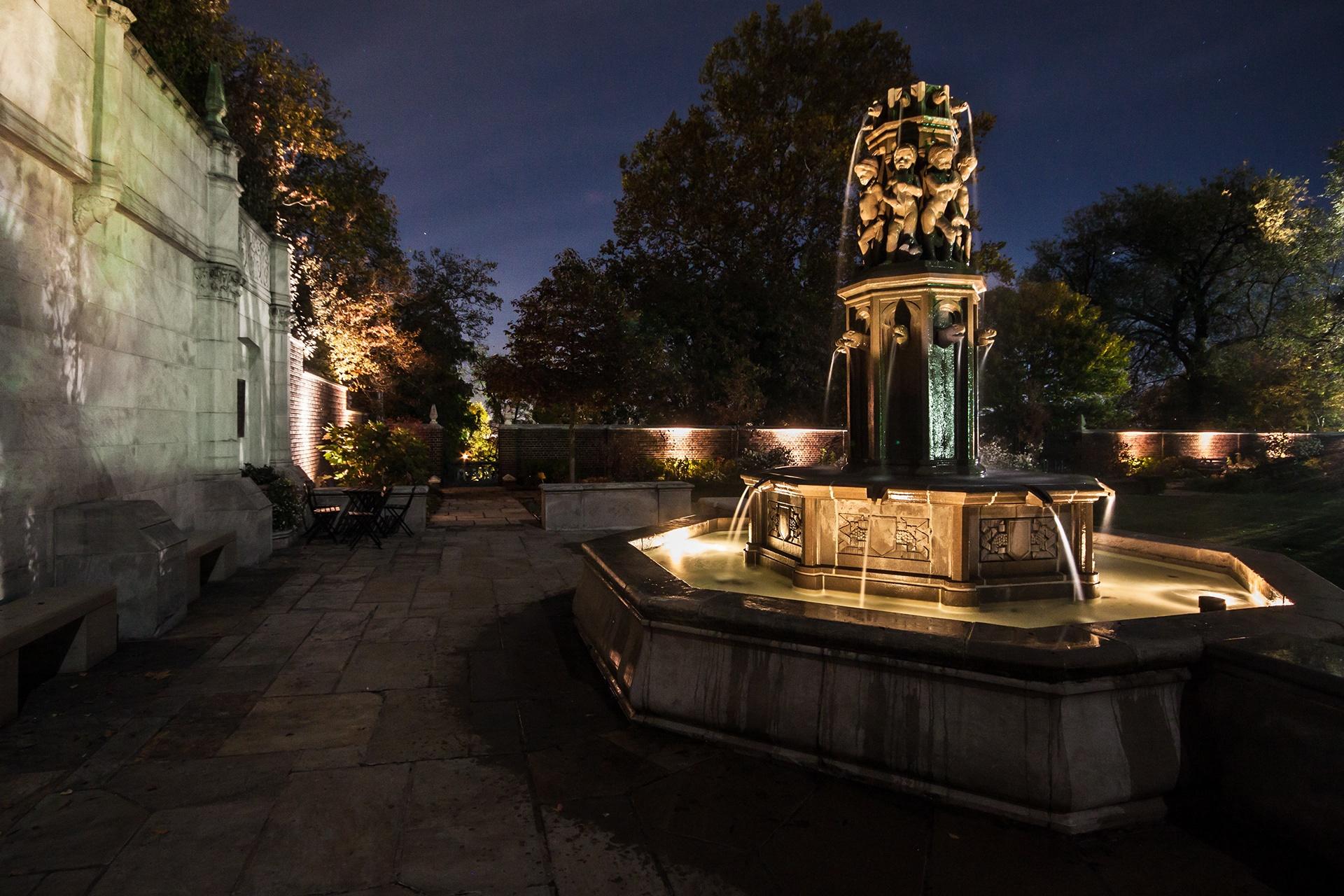 Mellon Park Fountain