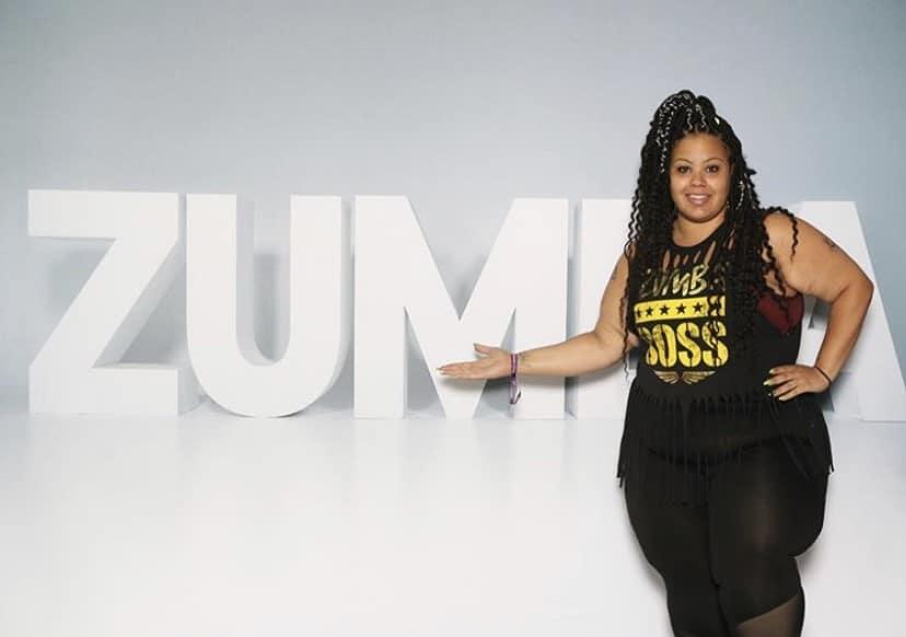 Image of a Zumba athlete