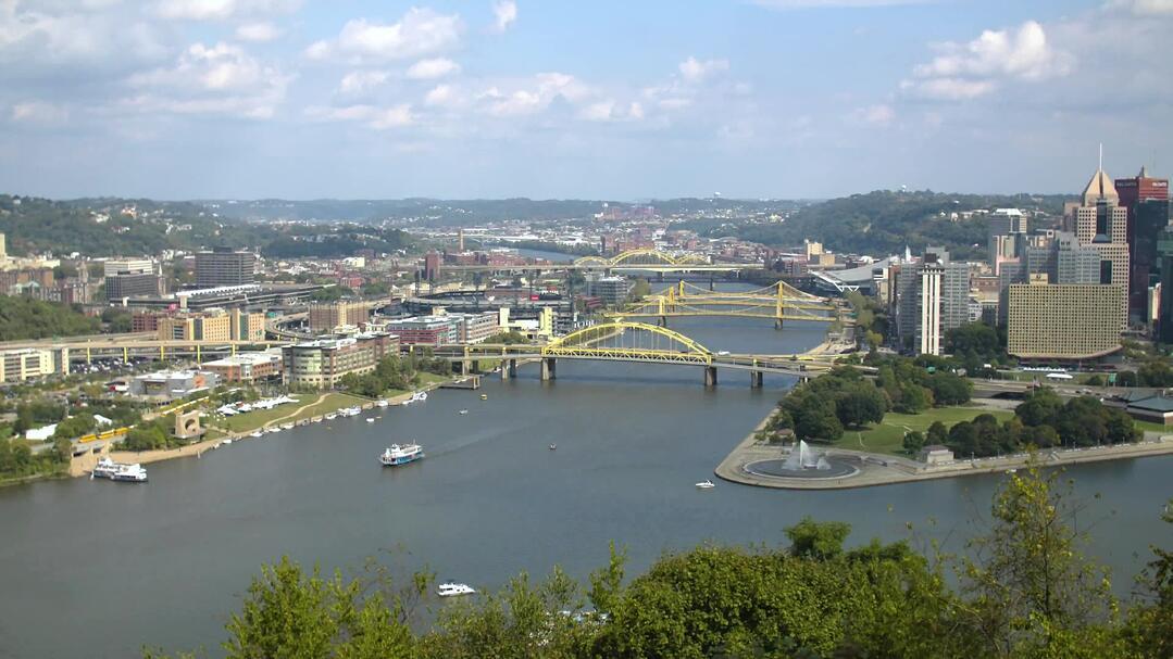 City skyline of Pittsburgh
