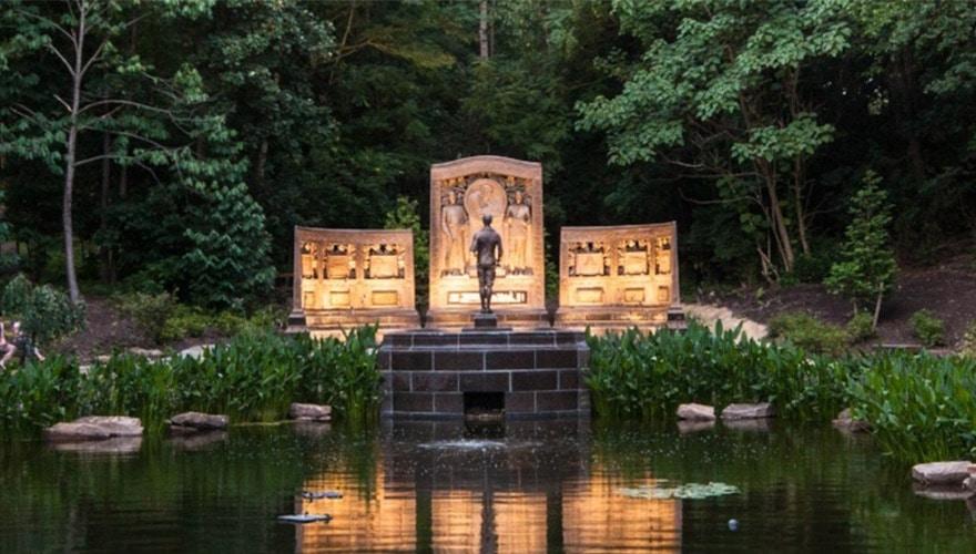 Westinghouse Memorial in Schenley Park
