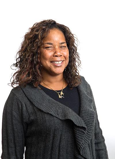 PPC Staff member Angela Williams