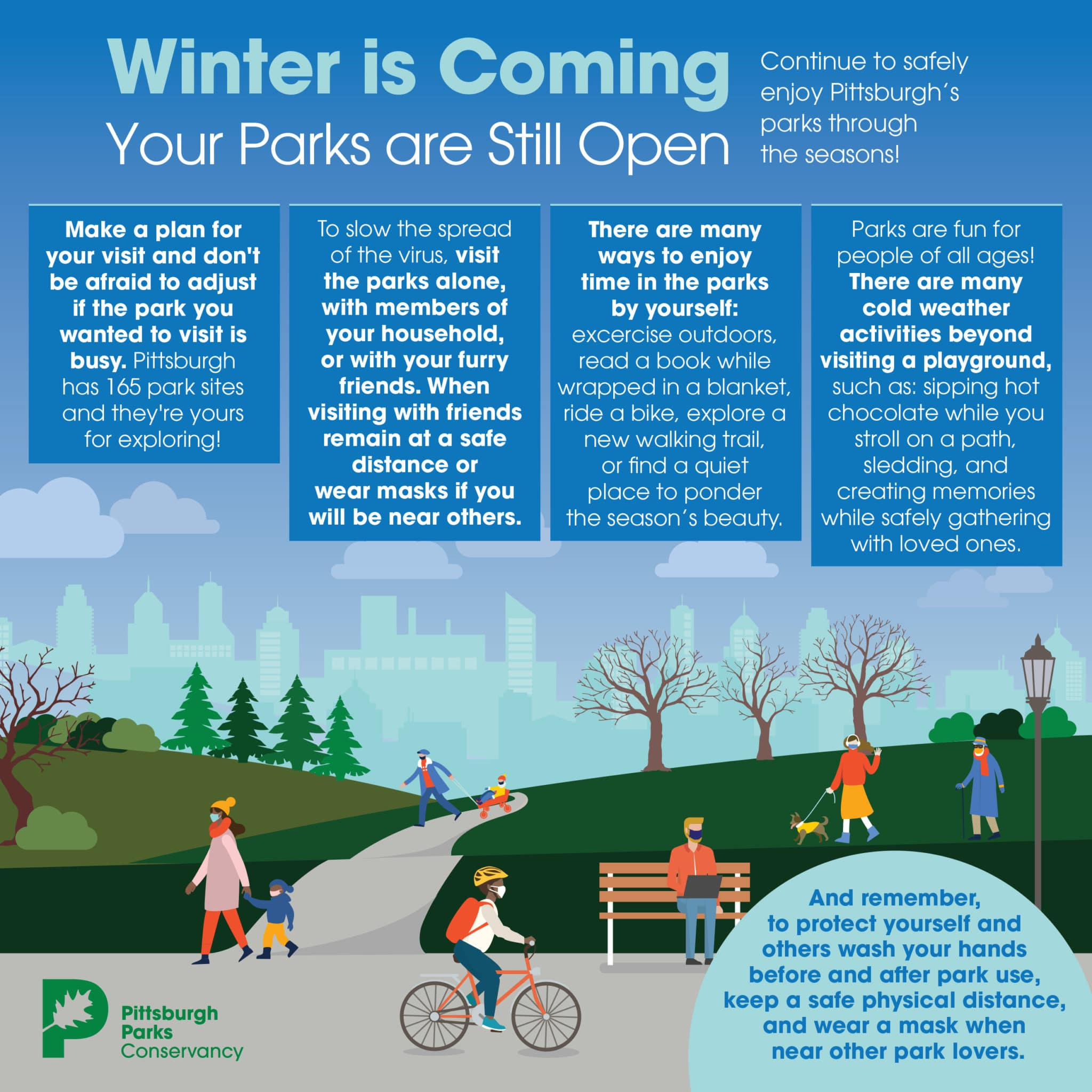 COVID How to Safely Enjoy Parks 10262020 Cold Weather