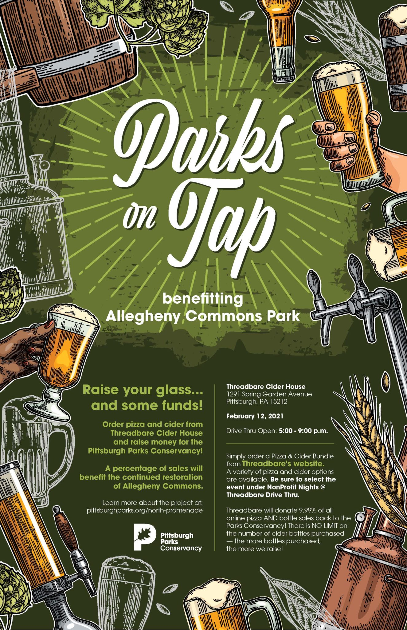 Poster for Parks on Tap