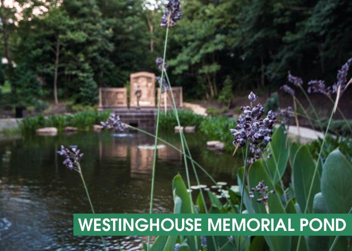 Westinghouse Memorial Pond Banner