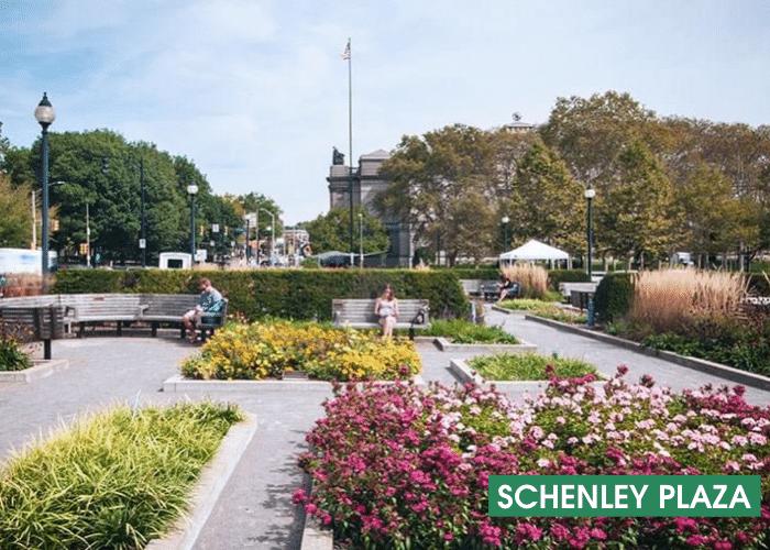 Schenley Plaza Garden Banner
