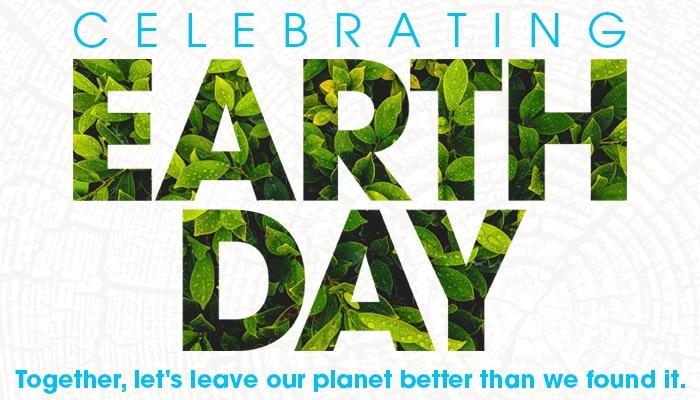 Celebrating Earth Day header