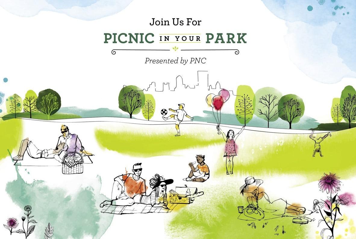 Picnic in Your Park Invitation