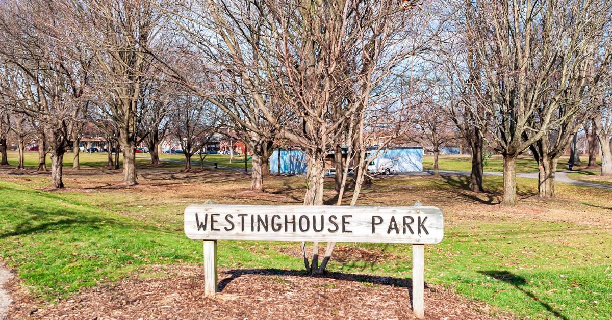 Westinghouse Park Entrance
