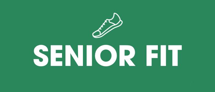 "Banner image that states ""Senior Fit"""