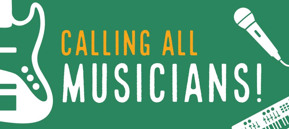 Calling All Musicians banner