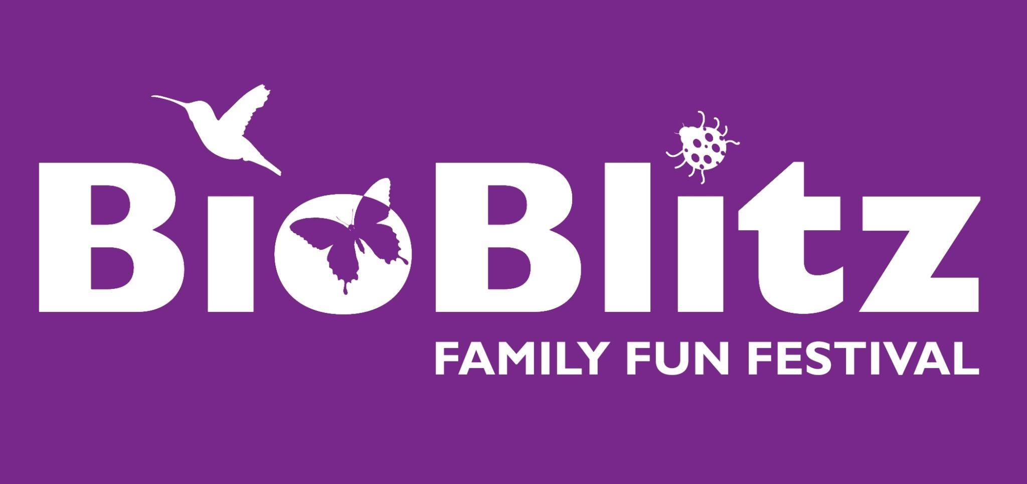BioBlitz Family Fun Festival header