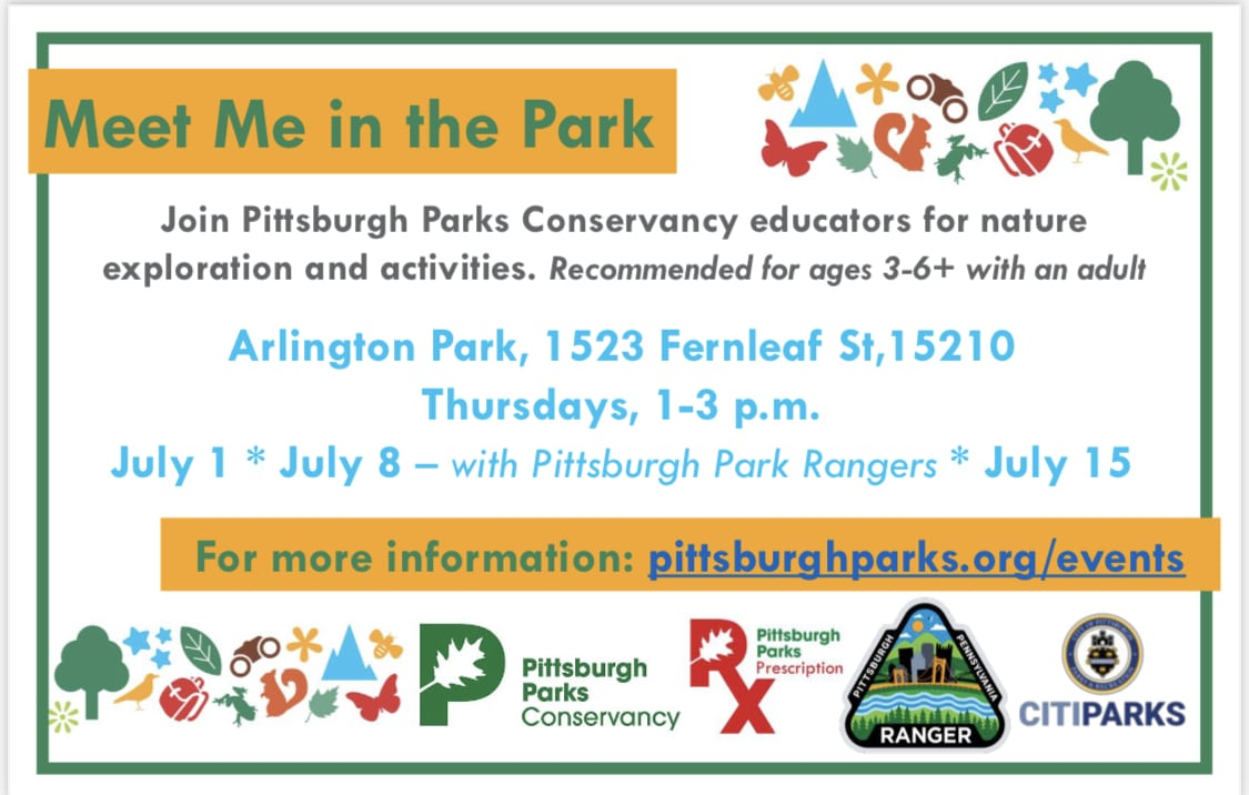 Meet Me in the Park banner