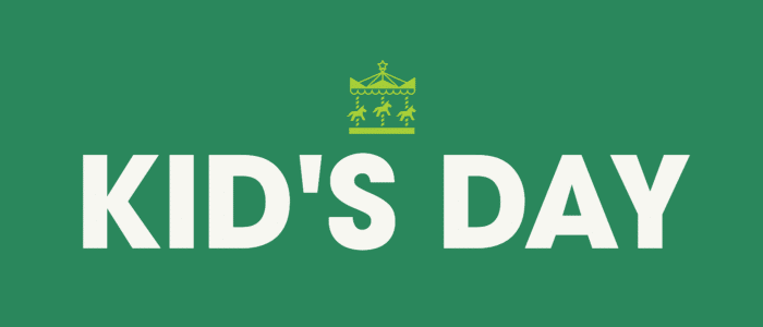 Kid's Day Graphic