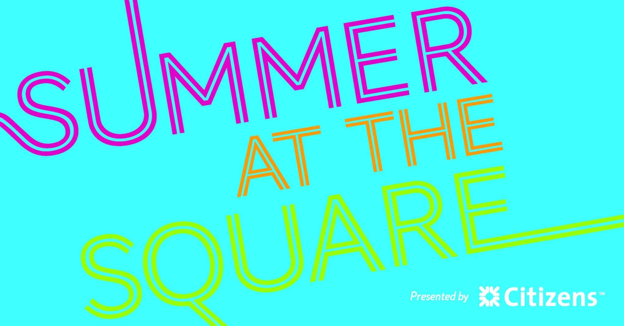 Summer at the Square Event Header