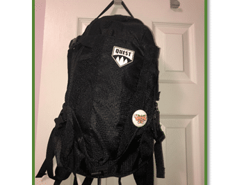 image of a hiking backpack