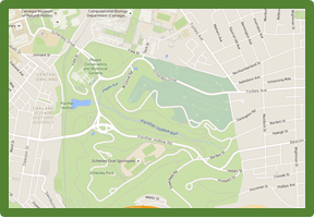 map of pittsburgh parks