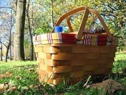 Image of picnic basket in the parks