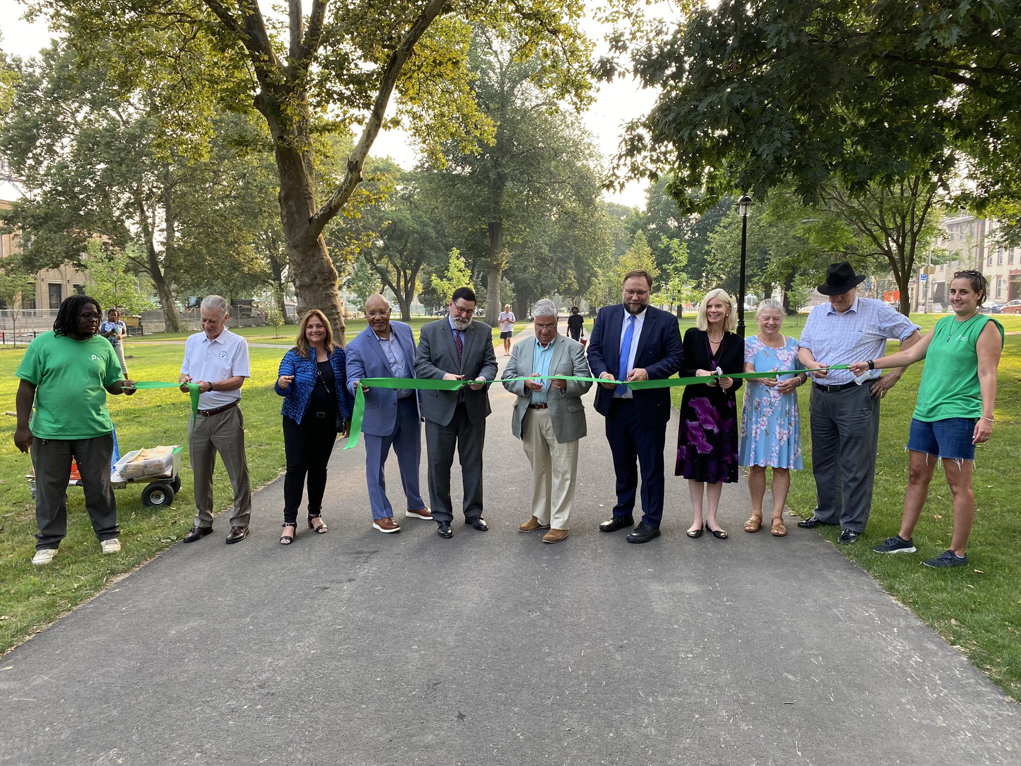 Ribbon Cutting Event at Allegheny Commons Park