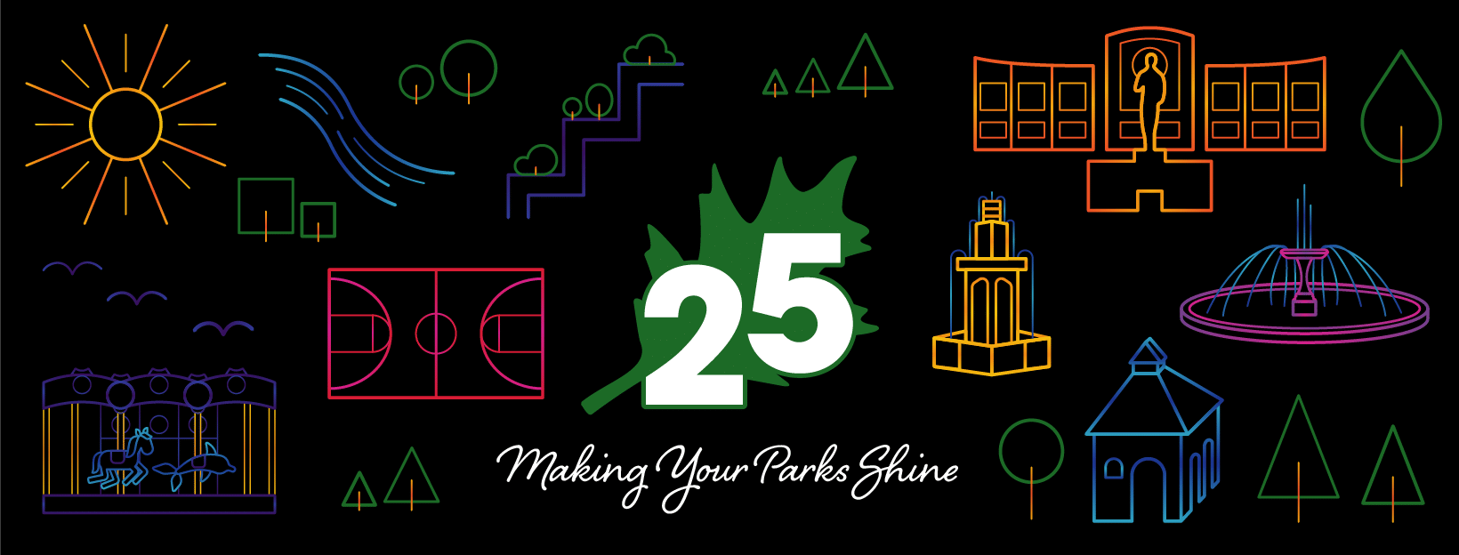 25 Years of Parks: Making Your Parks Shine banner