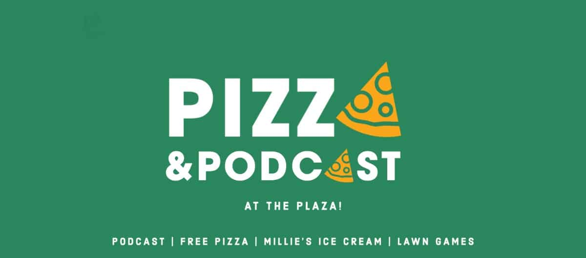 Podcast Event in Schenley Plaza